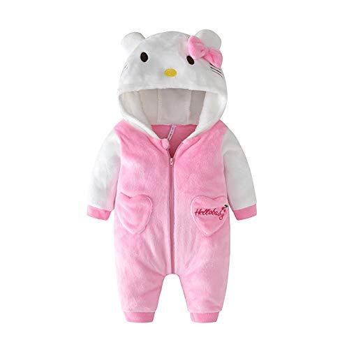 Bebé Ropa Peleles para Dormir y Batas con Capucha Gato Franela Pijama Mono 1-36 Meses: Amazon.es: Ropa y accesorios