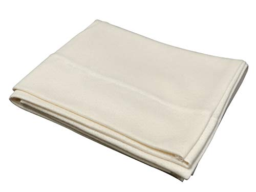 Snuggle-Pedic Organic Cotton Pillow Case Kool-Flow Breathable Stretch Knit Fabric (Queen)