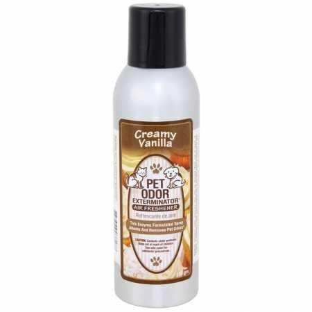 Pet Odor Exterminator & Air Freshener - Creamy Vanilla
