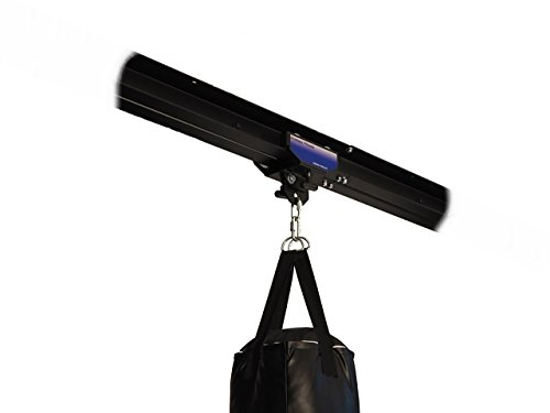 Firstlaw Fitness I-Beam Rolling Mount for Punching Bag & 4 Foot Rail Combo - BLUE Rolling Mount - Made in the USA by Firstlaw Fitness