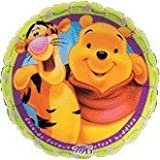 """Single Source Party Supplies - 18"""" Winnie The Pooh & Tiger Friends Forever Mylar Foil Balloon"""