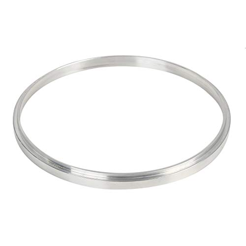 X AUTOHAUX 1/4 Inch Air Cleaner Spacer Riser Air Filter Spacer for Ford 350 Silver