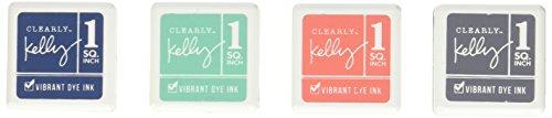 Kelly Purkey Dye Inks 4 Color Cubes-Urban