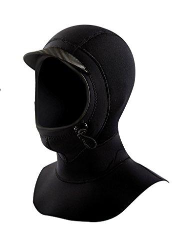 Neoprene Vapor Wetsuit (Body Glove 3mm Vapor Neoprene Wetsuit with Surf Hood and Visor, Large)