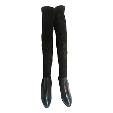 Paolo Biondini High Heel Long Boot (Size 36) [Black]