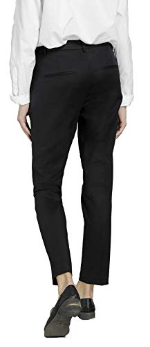 Marycrafts Women's Work Ankle Dress Pants Trousers Slacks ,Medium,Black 2 by Marycrafts (Image #6)