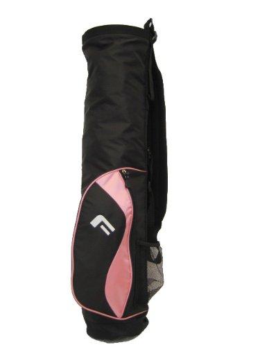 Forgan Pink & Black Ultra Light Golf Carry Bag NEW [Misc.]