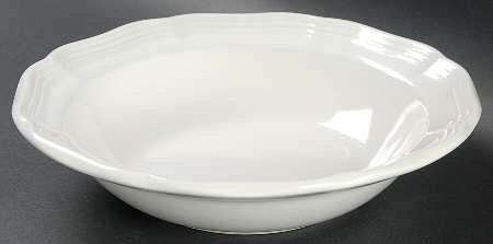 Mikasa French Countryside Rim Fruit/Dessert (Sauce) Bowl, Fine China Dinnerware