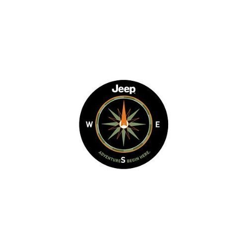 Jeep Spare Tire Cover - Mopar 82210884AB Jeep Spare Tire Cover