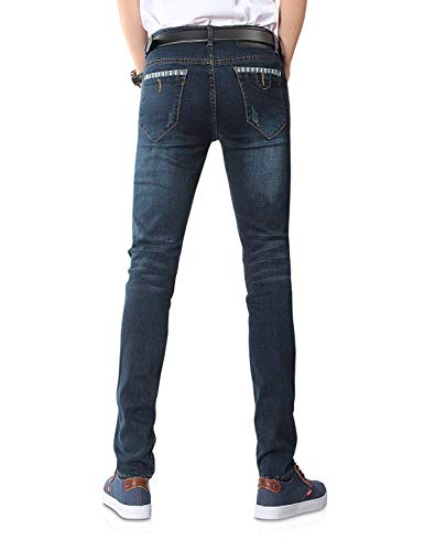 Blu Con Pantaloni Nn Boys 808 Vestibilità Ragazzi Serie Da Slim Uomo Classiche Blau In Denim vqHSqI