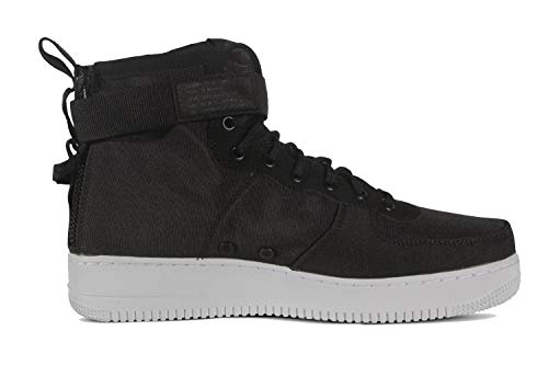 NIKE Men's SF AF1 Mid Air Force 1 (8 M US, Black/Anthracite-White)
