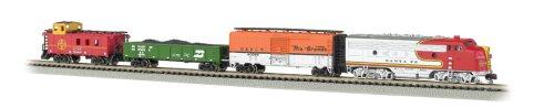 Bachmann Industries Super Chief - N Scale Ready to Run Electric Train Set