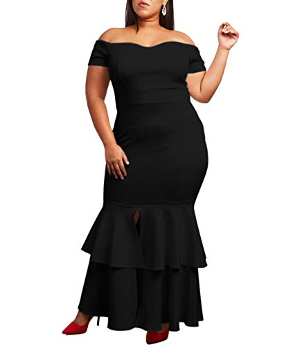 Lalagen Plus Size Dresses 2019