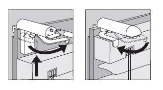 ps FASTFIX-Klemmtr/äger f/ür Jalousien Montage ohne Bohren direkt auf dem Fensterfl/ügel Ihres PVC-//Kunststofffensters 2 St/ück