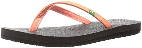 Hot Flop Coral Women's Flip Yoga 4 Sanuk Spree 1xXSYZ