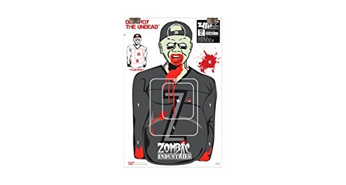 Zombie Colossal Paper Targets - 1