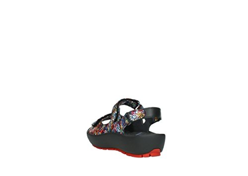 Wolky Womens Rio Leather Sandals morado