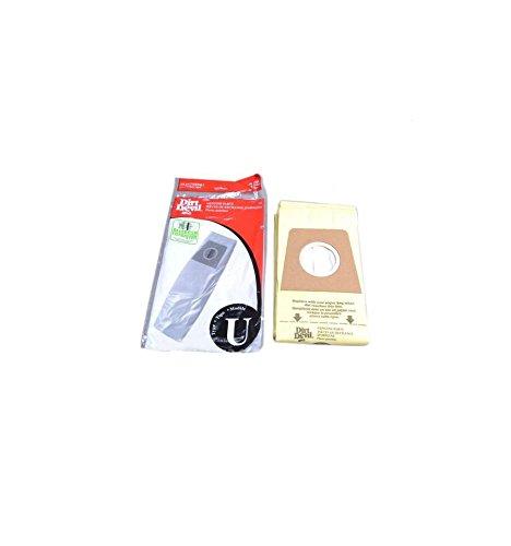 Dirt Devil Micro Allergen Filtration Type U Bags 3 Pk Genuine Part # 3920750001