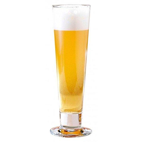 Footed Pilsner Beer Glass - 3