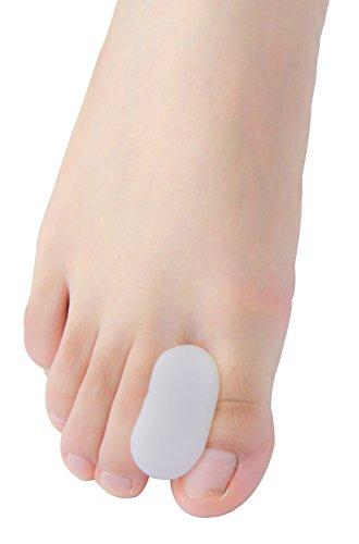 [해외]Povihome 발가락 충격 마 발가락 분리기, 외부 반대로 어머니 다치거나 상처 지지대 스트레이트 바 선택 5 쌍, 연약 하 젤로 부드럽게 지원 (M) / Povihome foot finger shock stopper toe separator, anti-toe supporter Straightener 5 pair, soft...