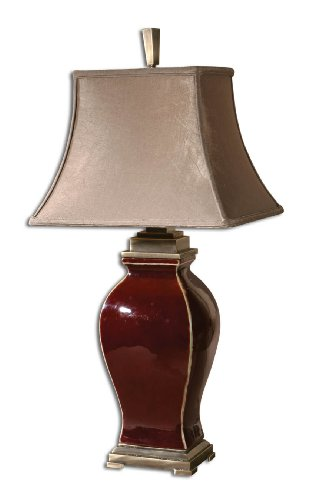 Uttermost 26684 33-Inch Tall Rory Table Lamp, Coffee Bronze Metal