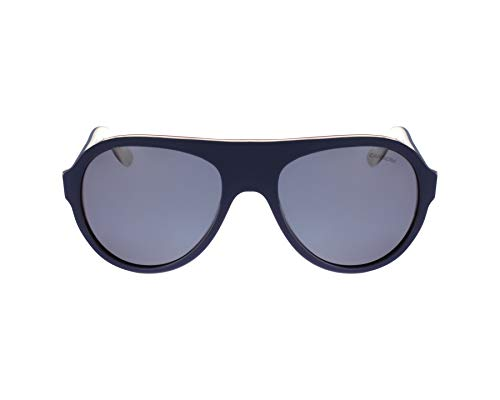 Carrera 84/S Navy on Ivory/Grey Polarized Aviator Sunglasses 8W3/W7 Size ()