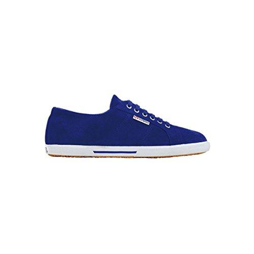 Superga 2950 Sueu - Zapatillas de Deporte de tela hombre Intense Blue
