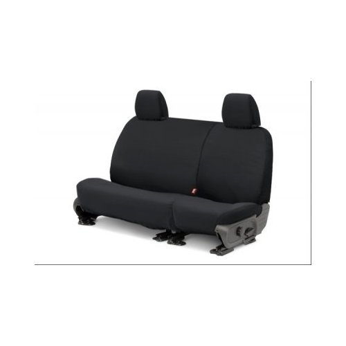 Covercraft SeatSaver Second Row Custom Fit Seat Cover for Select Toyota Tacoma Models Charcoal SS8413PCCH Polycotton
