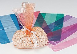 Purple Cellophane Bags (1 dozen) - Bulk [Toy]