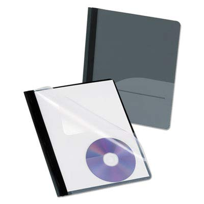 OXF57727 - Oxford CD Pocket Clear Front Report Covers