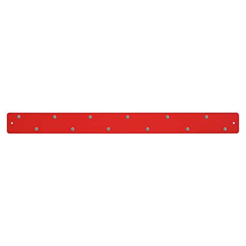 Three By Three Seattle Magnetic Strip Bulletin Board, Red by Three by Three (Image #3)