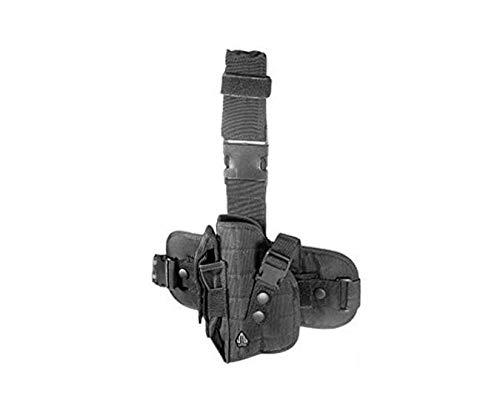 wolfslaves Tactical Shooters 92/94 Gun Holster Modular Pistol Holder Platform MOLLE Drop-Leg Right-Handed Special Ops Universal Leg Holster - Ops Universal Tactical Leg Holster