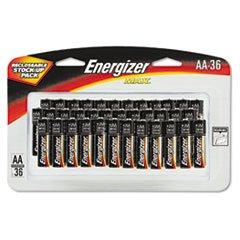 MAX Alkaline Batteries, AA, 36 Batteries/Pack