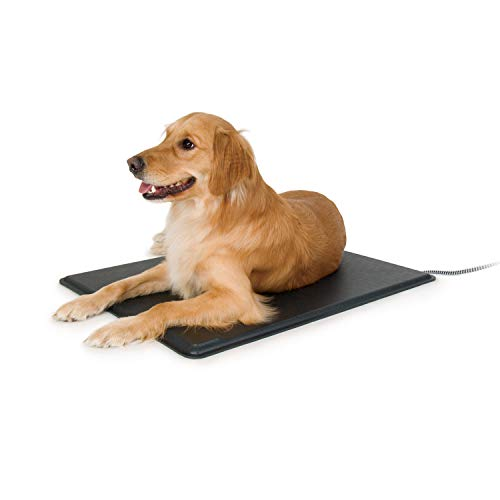 K&H Pet Products Original Lectro-Kennel Outdoor Heated Pet Pad, Large (Pad Heater Dog House)