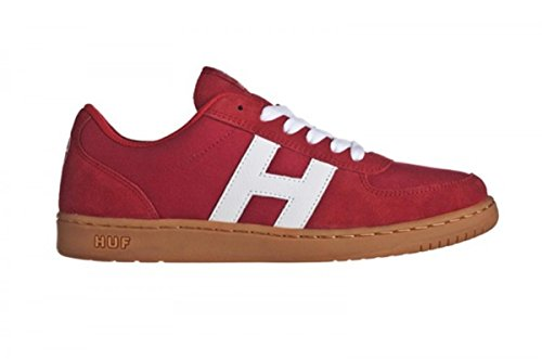 HUF- Skateboard Schuhe- 1984- Red/Gum