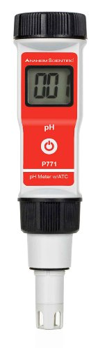 Anaheim Scientific P771 High Accuracy Pocket Sized pH Meter with ATC, Measures 0.00-14.00 pH, 0.01 pH Resolution by Anaheim Scientific