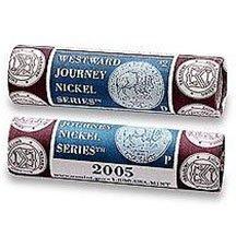 2005 P & D Westward Journey Nickel US Mint Wrapped Rolls American Bison Sealed Box