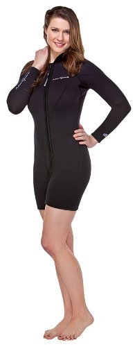 - NeoSport Wetsuits Women's Premium Neoprene 7mm Step-In Jacket,Black,10