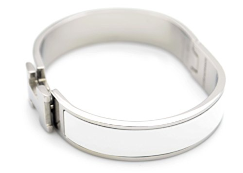 titanium-steel-buckle-bangle-clic-clac-bracelet-h-shaped-12-mm-white-silver