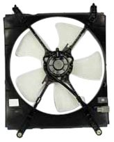 Toyota Camry Radiator Fan Shroud - TYC 600100 Toyota Camry Replacement Radiator Cooling Fan Assembly