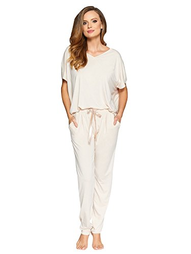 Long Short Set (Vanilla Soft Viscose Pajama Sets For Women Long and Shorts PJ Set Made In Europe)