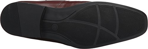 Massimo Matteo Mens Moc Toe Blucher Marrone