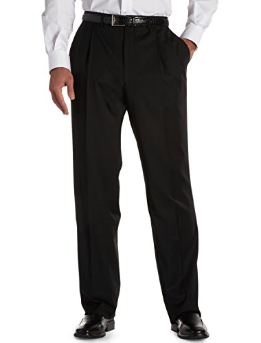Jack Victor Massive & Tall Nano Efficiency Double-Pleat Gown Trousers