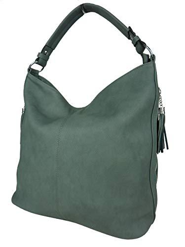 bags Mujer Gris Otra de de tela more amp; Piel bolso 8348 RzaArRgq