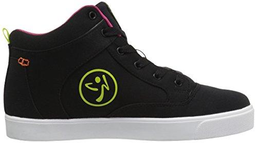 Zumba Footwear Mädchen Zumba Street Fresh Hallenschuhe Schwarz (Black)