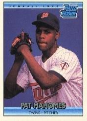 Amazoncom 1992 Donruss Baseball Rookie Card 403 Pat