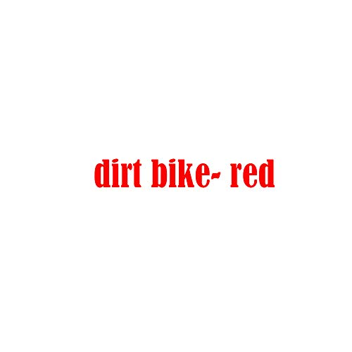 - HML MOTO Kids Youth Gas 90cc Air Cooled 3 Speed semi-Automatic Transmission Kick Start Dirt Pit Bikes Motorcycle (red)