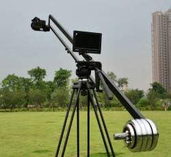 2,4 m 243,84 cm GOWE con cabezal giratorio de grúa para cámara ...
