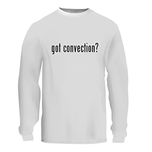 got convection? - A Nice Men's Long Sleeve T-Shirt Shirt, White, Large (Oven Recipes Oster Convection)