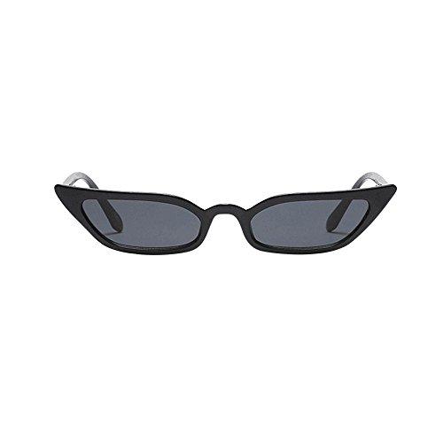 Femme de de Sunenjoy de Lunettes Dames chat Vintage Mode pour Soleil Des Petit Noir Rétro cadre soleil lunettes UV400 Lunettes Oeil qSnI4w